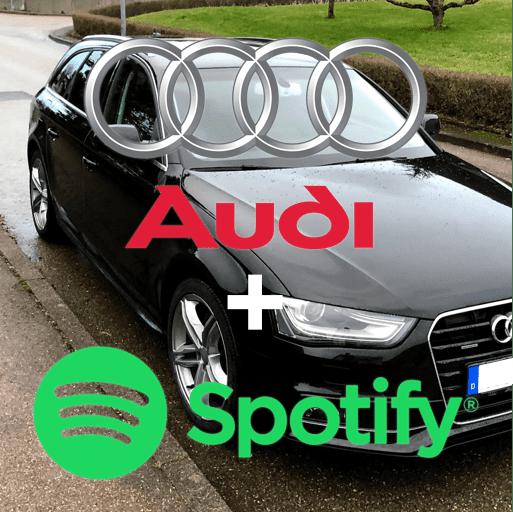 Spotify per Bluetooth vom iPhone mit einem Audi verbinden